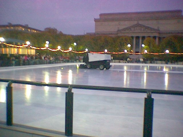 The D.C Ice Rink is Now Open