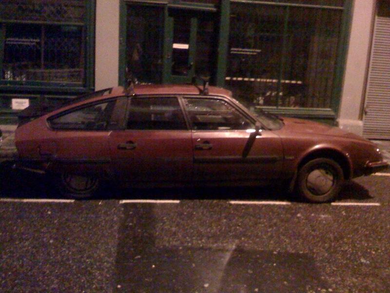 Weird Ass Car on Cheshire St.